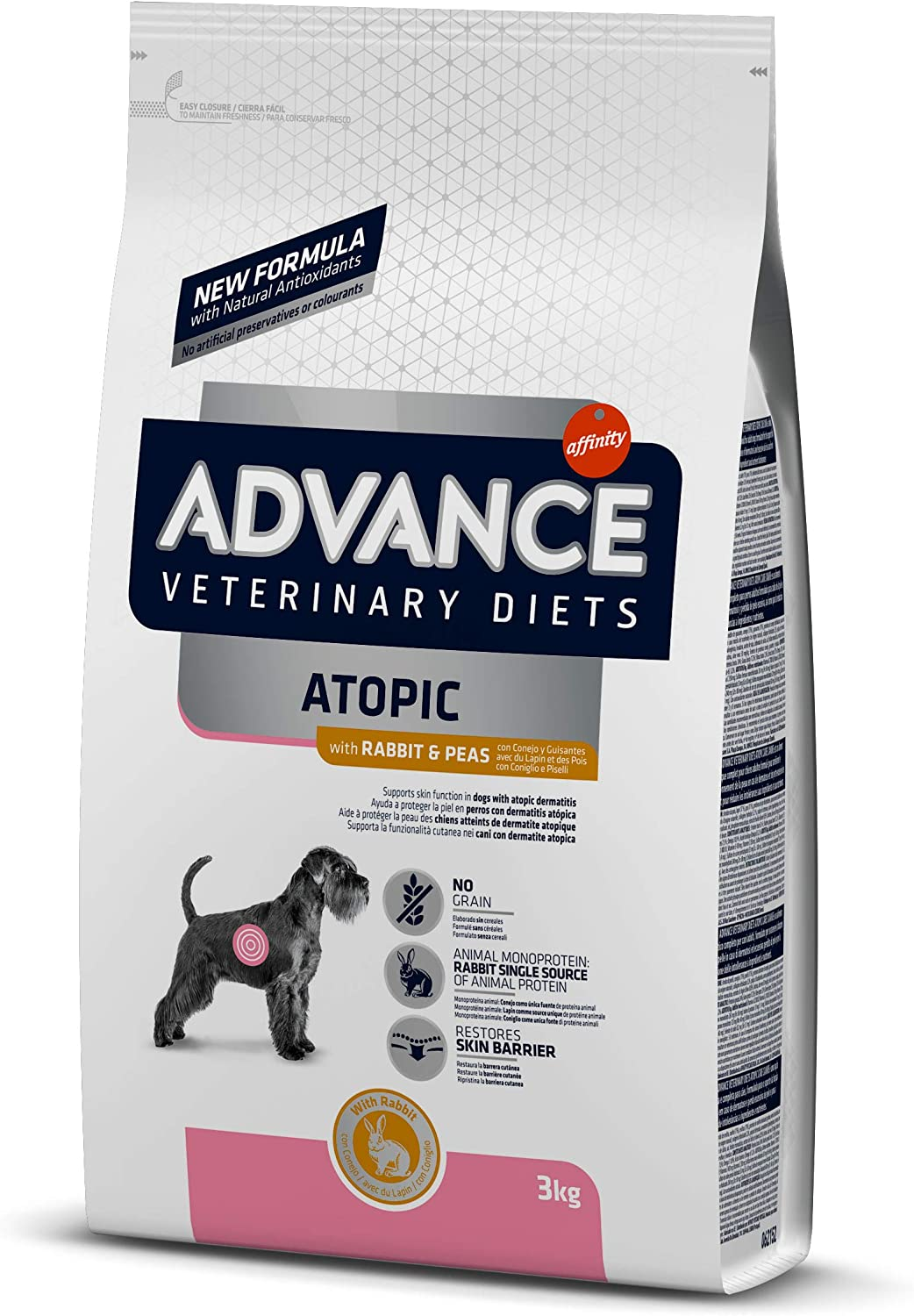 Advance Veterinary Diets Atopic Care Pienso para Perros - 3000 gr