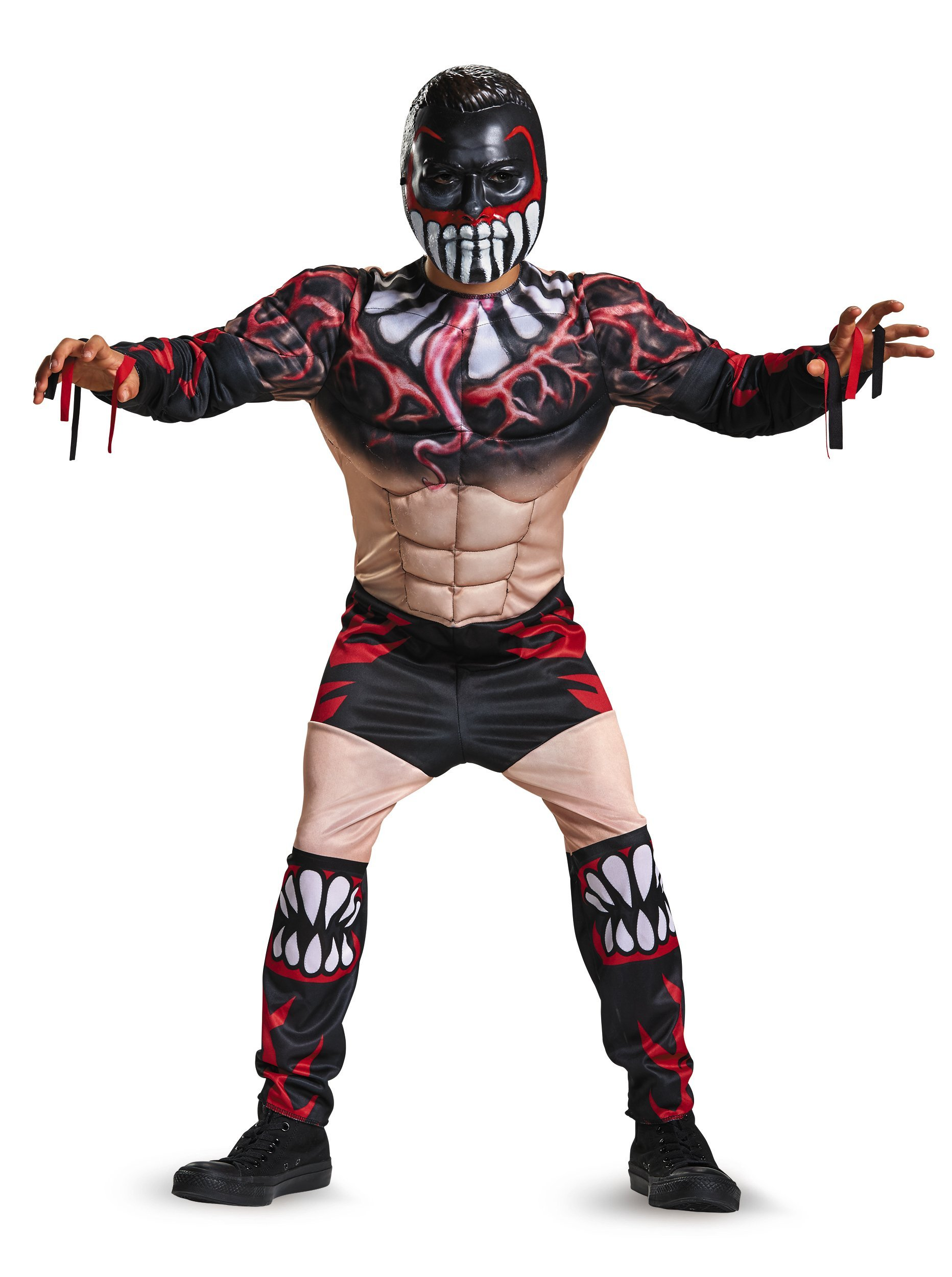 Disguise Fin Balor Classic Muscle WWE Costume, Large/10-12