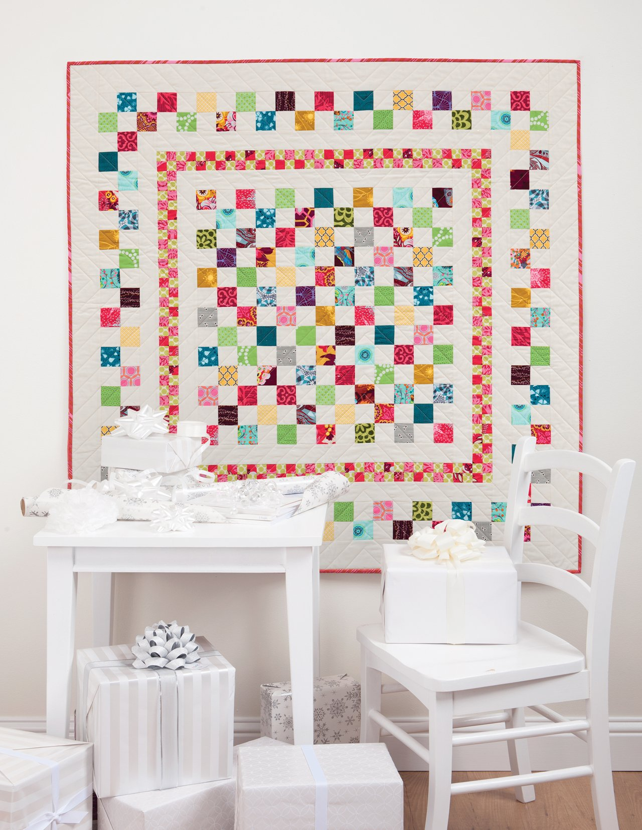 Simply Modern Christmas by Cindy Lammon~fresh Quilting Patterns For The Holidays