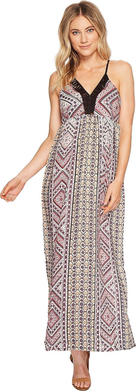 Angie Womens Strappy Maxi Dress
