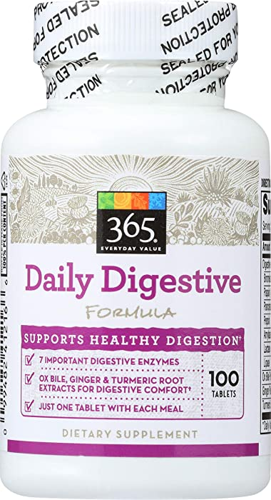Top 10 Whole Food Supplement Digestive Enzymes