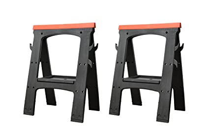 Peachy Folding Saw Horse Work Bench Pair Beatyapartments Chair Design Images Beatyapartmentscom