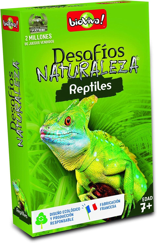 Bioviva- Juego de cartas Desafíos Naturaleza Reptiles (Asmodee 308) , color/modelo surtido: Amazon.es: Juguetes y juegos