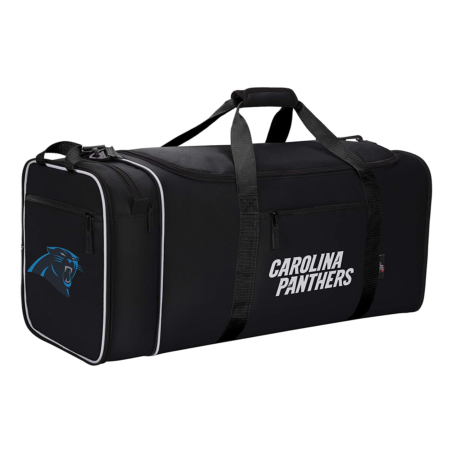 e0f6bd81626 Amazon.com   Officially Licensed NFL Carolina Panthers Steal Duffel Bag    Sports   Outdoors
