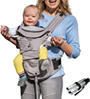 Mamapod All Position 360 Baby Carrier with Support Pole, Adjustable Newborn to Toddler Carrier, Toddler to Infant Baby Carrie
