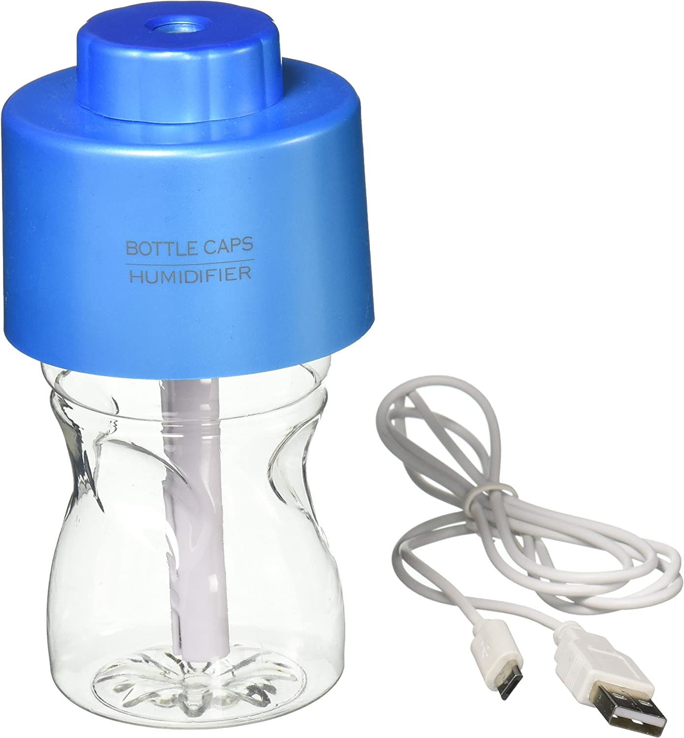 Phtronics Portable Bottle Cap Air Humidifier with Bottle for
