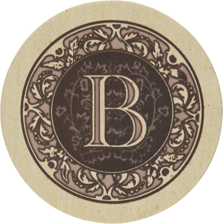 Thirstystone Monogram R Sandstone Coaster Set Of 4