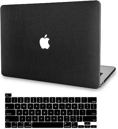 Patr/ón de Piedra Negra ACJYX Funda MacBook Pro 13 Pulgadas 2020 2019 2018 2017 2016 Versi/ón A2338 M1 A2289 A2251 A2159 A1989 A1706 A1708 Carcasa de Pl/ástico Solo Compatible con MacBook Pro 13.3