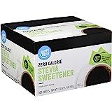 Amazon Brand - Happy Belly Zero Calorie Stevia Sweetener, 500 Count
