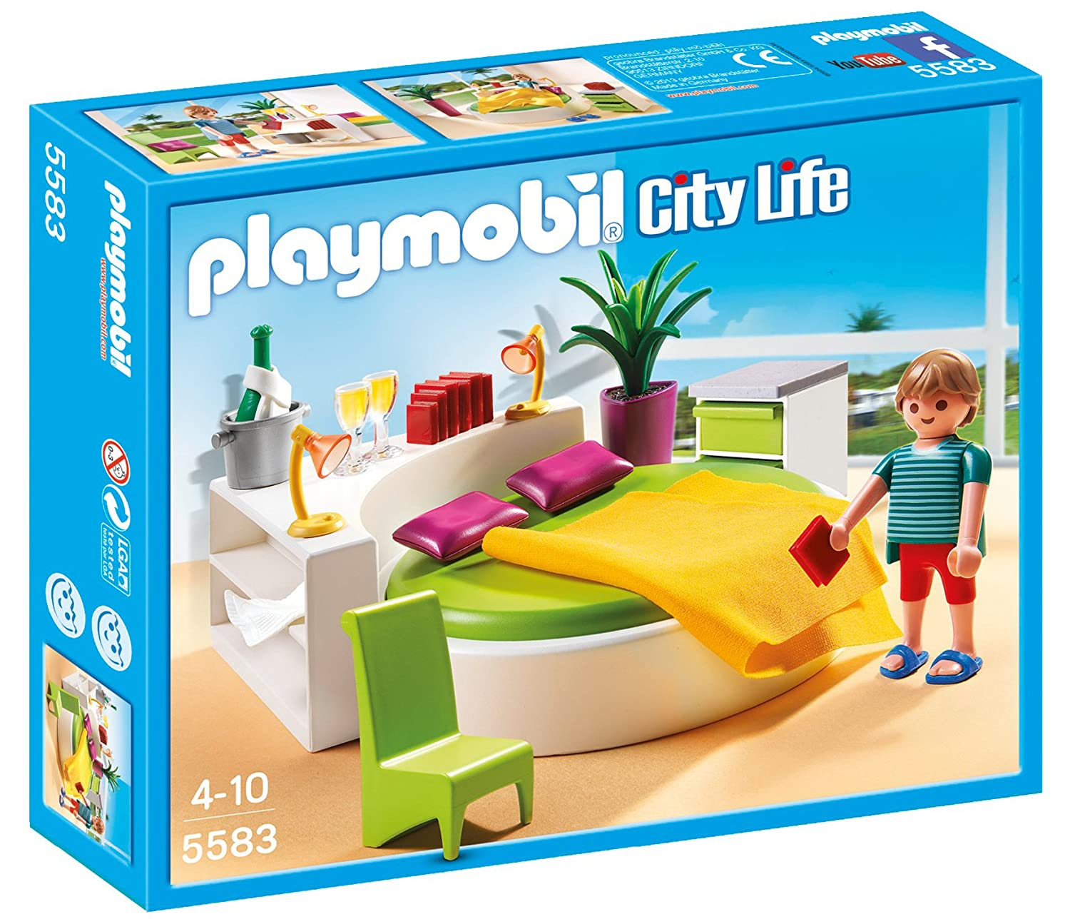 PLAYMOBIL® Modern Bedroom PLAYMOBIL® Modern Bedroom Playmobil - Cranbury 5583