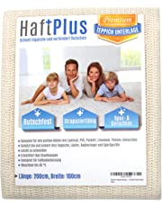 HaftPlus Teppichunterlage Antirutschmatte/Haftet ohne zu kleben/rutschfest zuschneidbar/Größe:: 200 x 100 cm