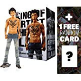 """Trafalgar Law: ~10"""" One Piece King of Artist Figure Series + 1 FREE Official One Piece Trading Card Bundle"""