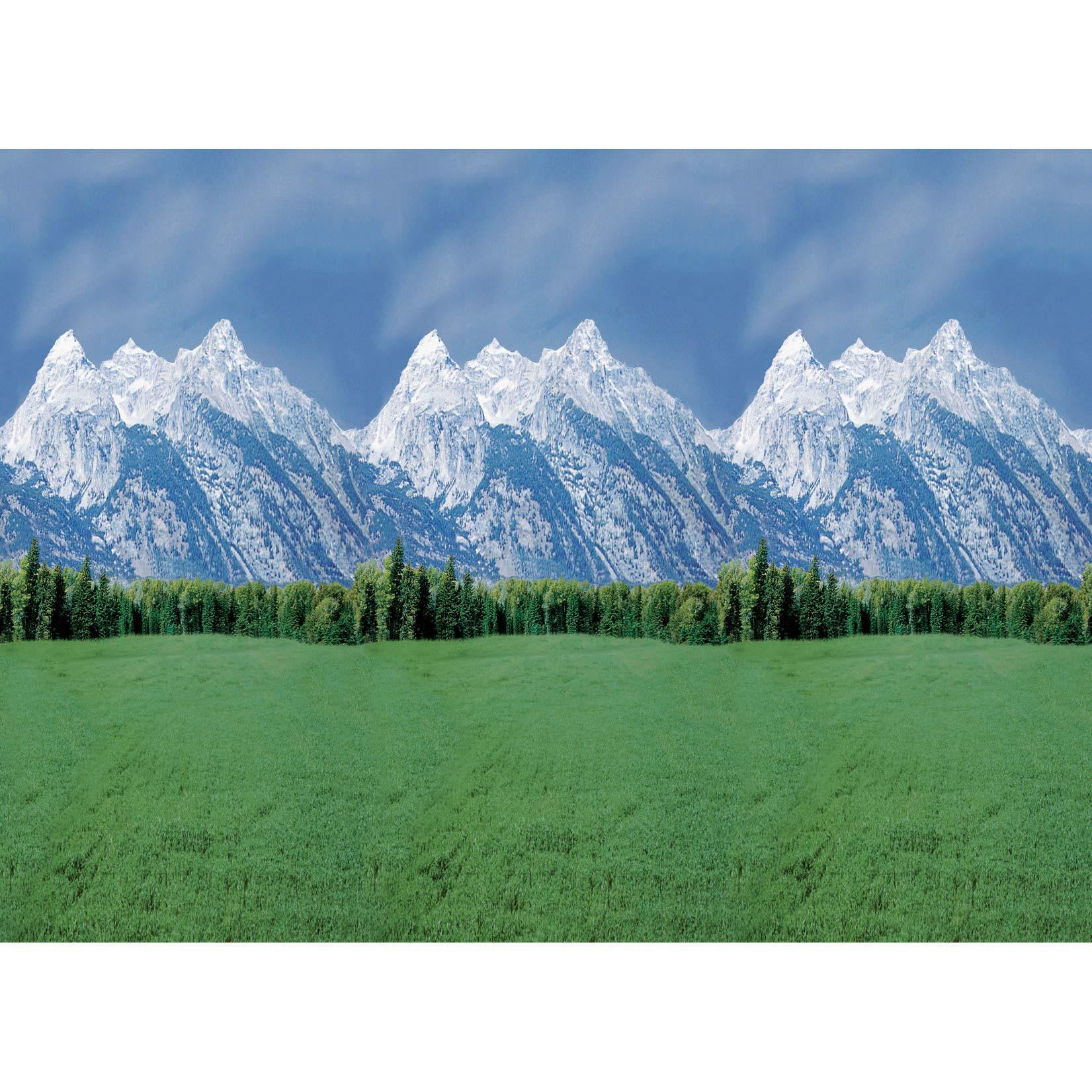 Fadeless PAC56875 Bulletin Board Art Paper, Mountains, 48'' x 50', 1 Roll