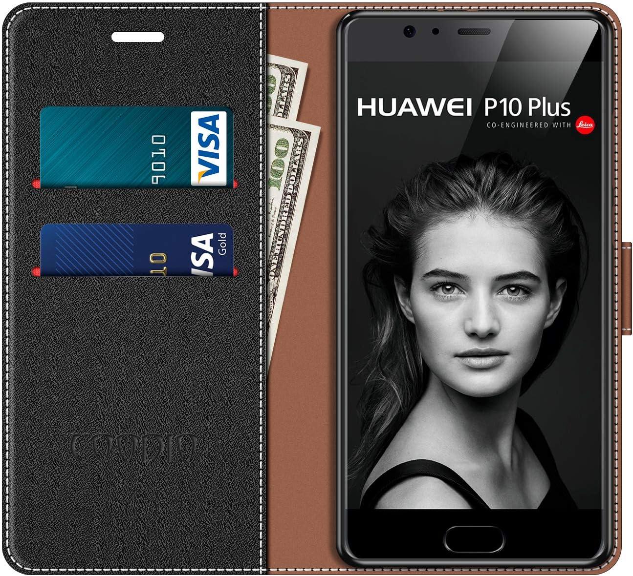 COODIO Funda Huawei P10 Plus con Tapa, Funda Movil Huawei P10 Plus ...