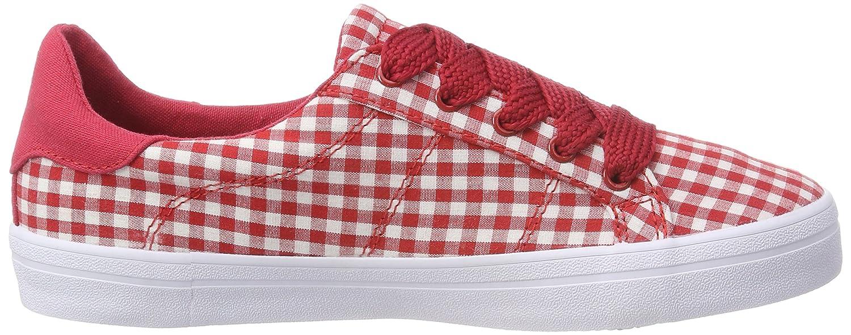 ESPRIT Damen Mindy (Red) Vichy Lu Sneaker, Rot (Red) Mindy 5cb36c