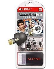 Alpine MusicSafe Pro Ear Plugs - Designed for musicians - Three interchangeable filter sets - Comfortable hypoallergenic material - Reusable earplugs - Black