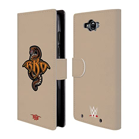 Official WWE RKO Snake Randy Orton Leather Book Wallet Case Cover For Motorola Droid Turbo