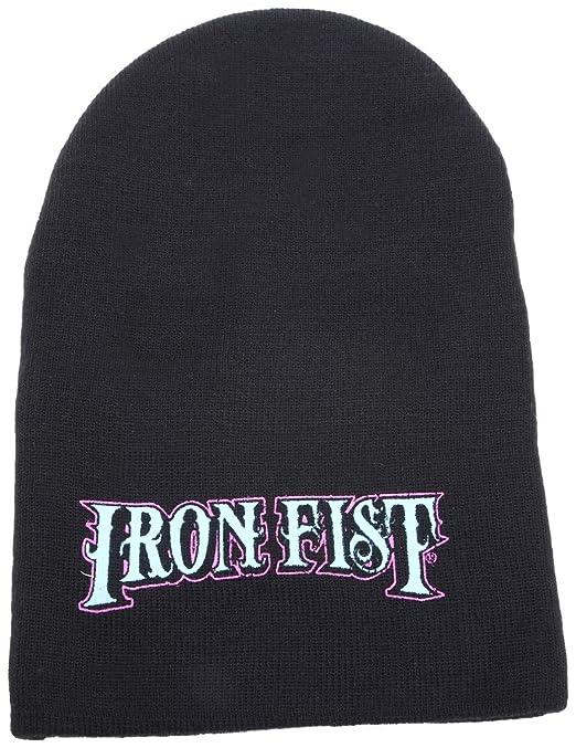 Iron Fist vampiro máscara de esquí sombrero para hombre Negro negro Talla única: Amazon.es: Ropa y accesorios