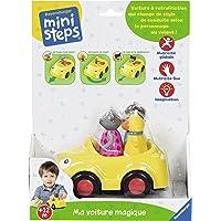 Ravensburger–Ministeps–04714–Ma Voiture Magique– Kleinkinderspielzeug (französische Version)
