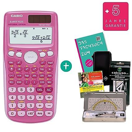 pink erweiterte Garantie Casio FX 85 GT Plus