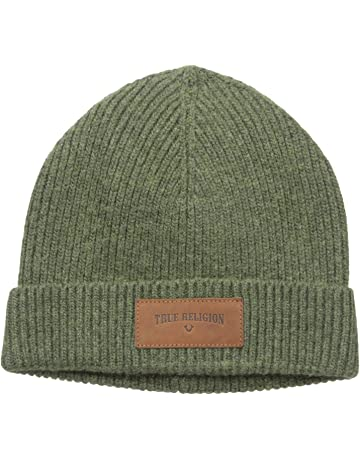bde8263617a6b True Religion Men s Ribbed Knit Watchcap with Patch