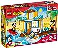 LEGO 10827 - Set Costruzioni Duplo Topolino  La Casa Sulla Spiaggia Di Topolino E I Suoi Amici