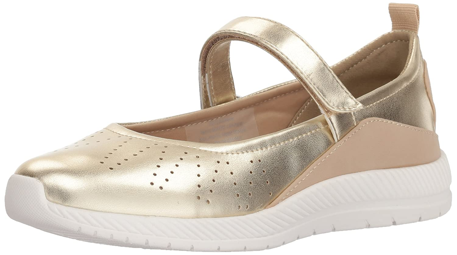 Easy Spirit Women's Garima Mary Jane Flat B077Y8KH62 6 B(M) US|Gold