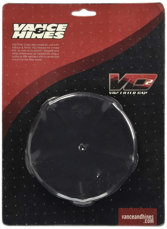 Vance&Hines(バンスアンドハインズ) スカルキャップカバー SKULLCAP COVER (スカルキャップ カバー) VO2エアクリーナーインテイク NAKED用 ブラック 1010-0867 71015  ブラック B00EURG4CC