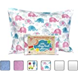 Little Sleepy Head Toddler Pillowcase - Elephants, 13 x 18