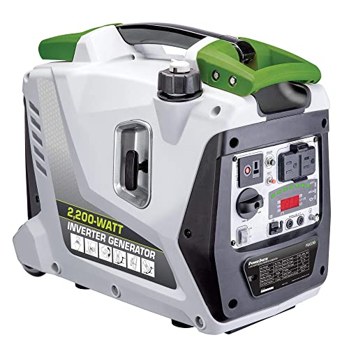 POWERSMITH PGA2200i Portable 2200 Watt 1 Gallon Gas Power Inverter Generator