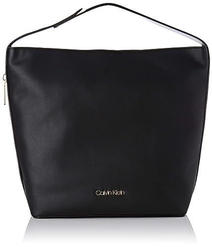 baeae06d1b Calvin Klein Jeans Drive Hobo, Women's Shoulder Bag, Black, 10x25x30 cm (B