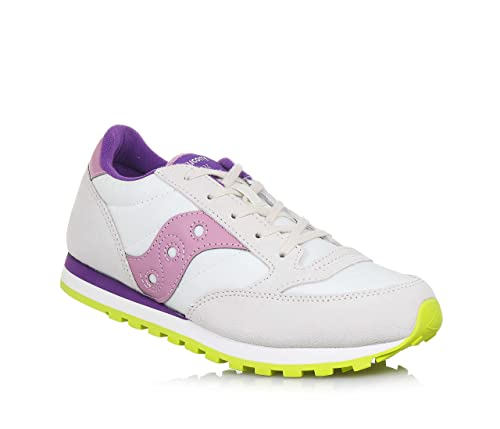 Saucony Jazz Original Kids - SC56448 Off White Pink Purple -  MainApps   Amazon.it  Scarpe e borse 86cacbba34b
