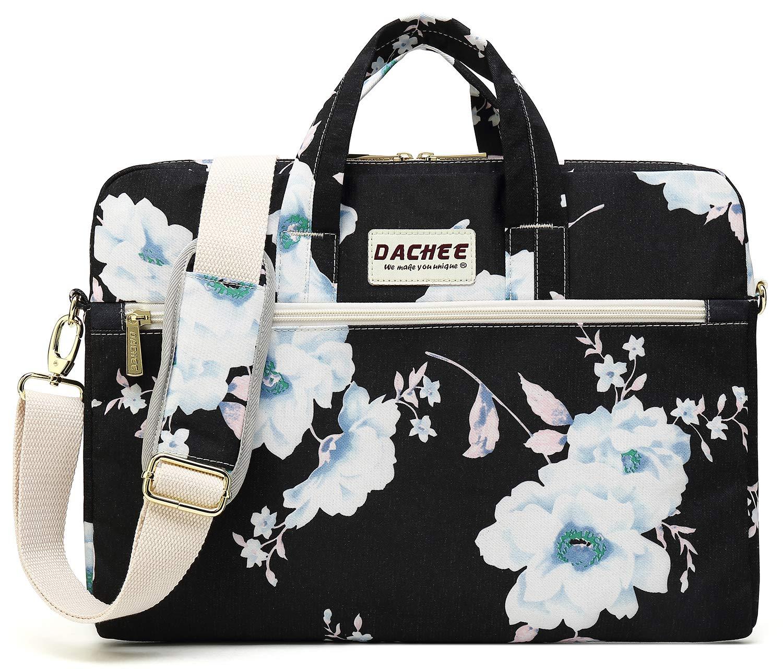 Dachee New Bohemian Elephant Laptop Messenger Bag 15 Inch Laptop Briefcase 15.4 Inch //15.6 Inch Laptop Shoulder Bag FBA/_BC25900