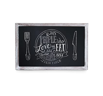 Amazon.com: HBCY Creations Rustic Whitewashed Magnetic Wall ...
