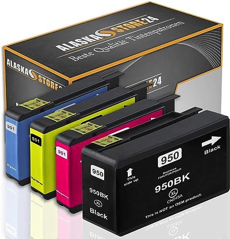 4X Cartuchos de Tinta compatibles HP 950XL 951XL (BK/C/M/Y) con HP officejet: Amazon.es: Electrónica