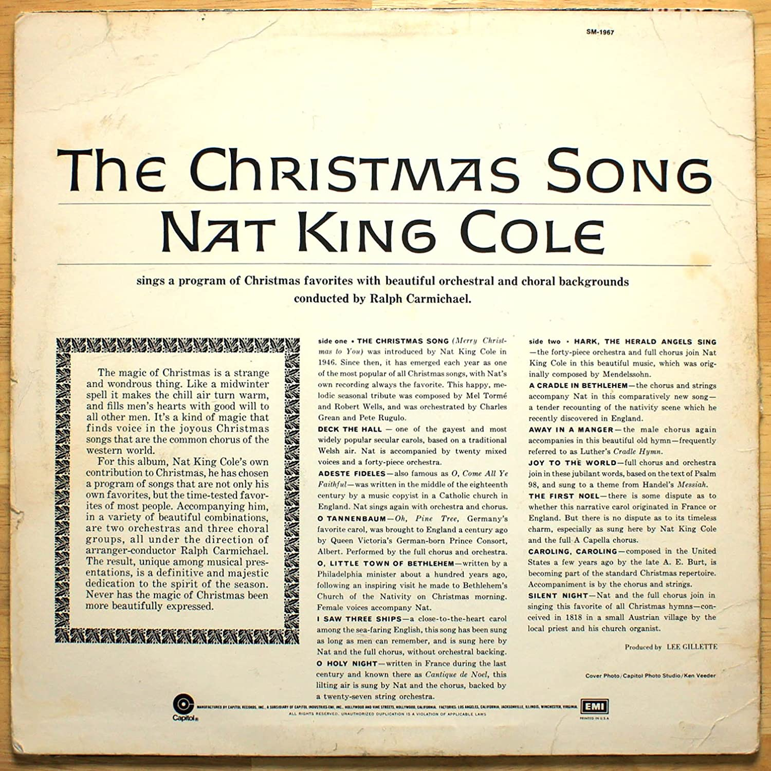 Nat King Cole - Nat King Cole\'s The Christmas Song - Amazon.com Music