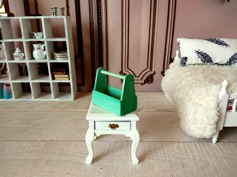 garden miniature tool box dollhouse