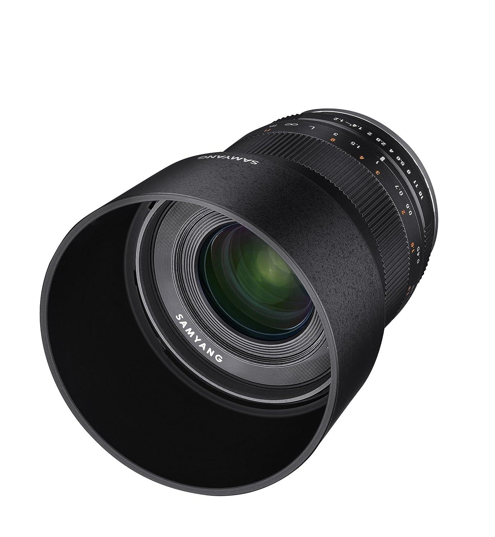 Negro Objetivo fotogr/áfico para Fuji X Samyang CSC-Mirrorles 35 mm, F1.2 ED, AS UMC