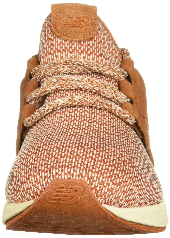 New Balance Herren Fresh Faom Cruz V2 Hygge Pack Sneaker Orange (Canyon/Hemp/Faded Birch Ho2)