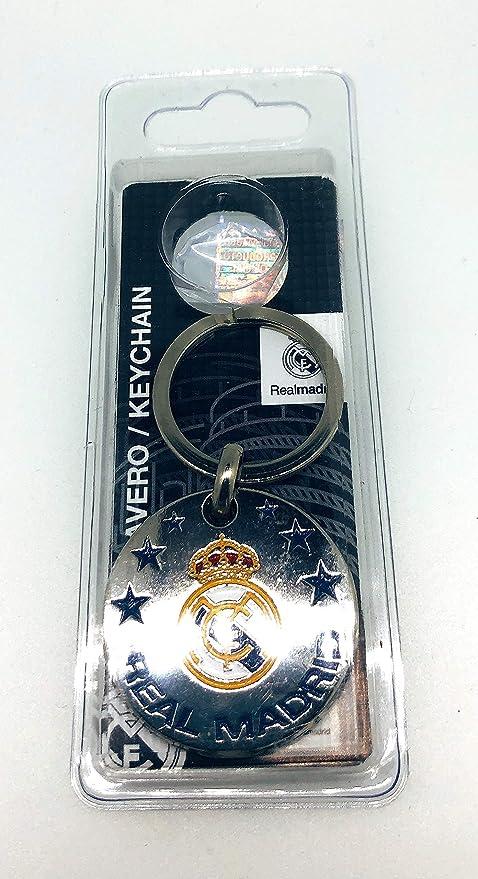 Llavero Real Madrid F.C Escudo Producto Oficial: Amazon.es ...