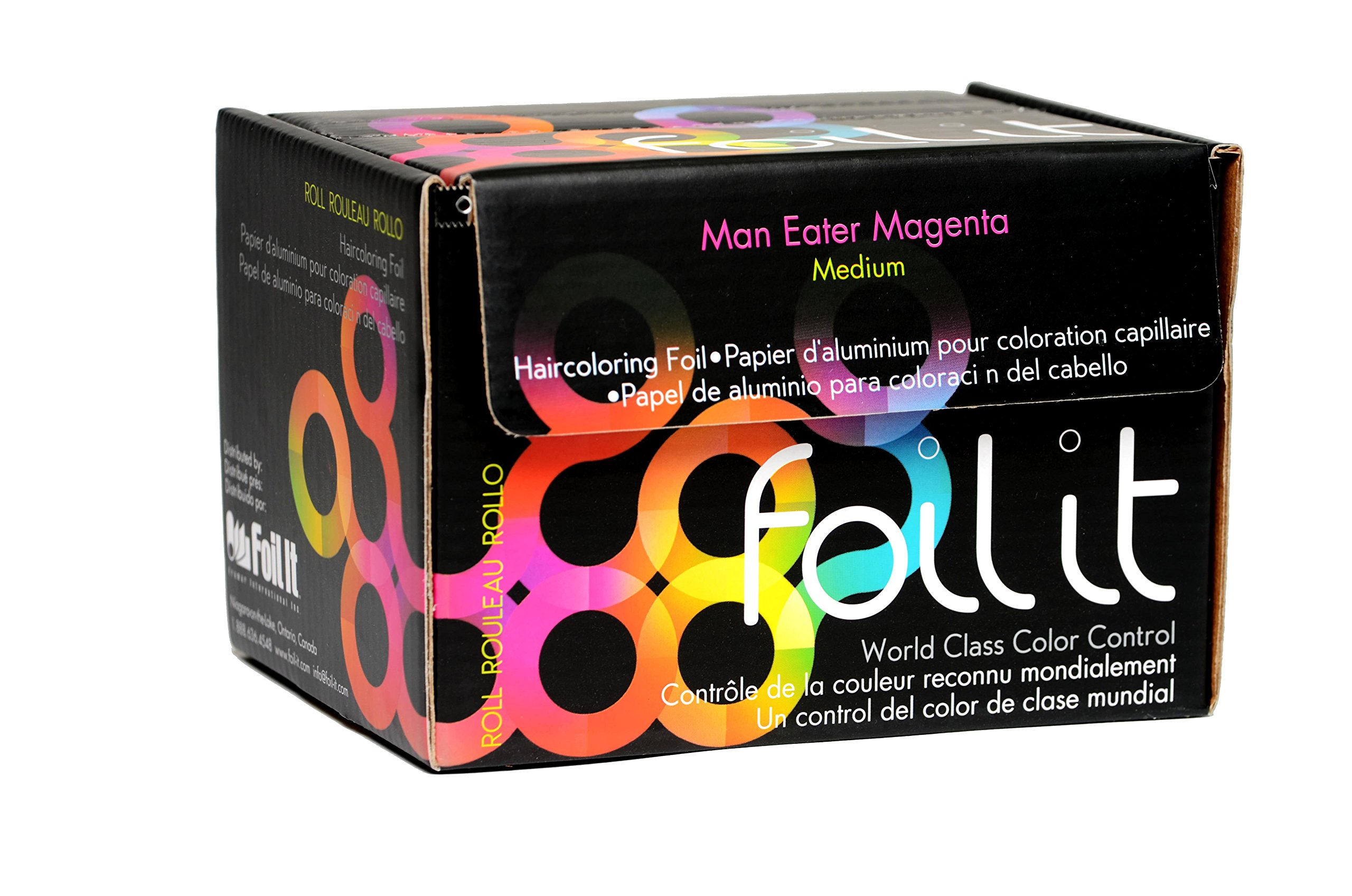 Framar Magenta Aluminum Foil Roll, Foil Paper- Medium 1600 ft by FRAMAR (Image #4)
