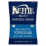 Kettle Brand Potato Chips, Sea Salt and Vinegar, 13 Ounce Party Size