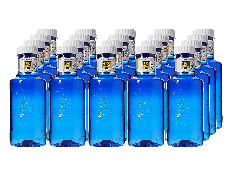 Caja X20 Botella Agua Solan De Cabras Pet 500Ml: Amazon.es: Alimentación y bebidas