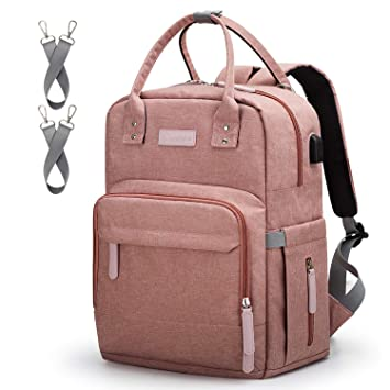 8a3e6a368 Diaper Bag Backpack Upsimples Multi-Function Maternity Nappy Bags for Mom    Dad