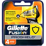 Gillette Fusion Proshield Flexball Cuchillas de Afeitar para Hombre - 4 unidades