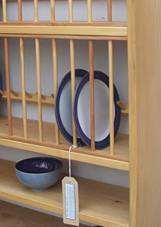 THE STROUD PLATE RACK IN PINE & THE STROUD PLATE RACK IN PINE: Amazon.co.uk: Kitchen \u0026 Home