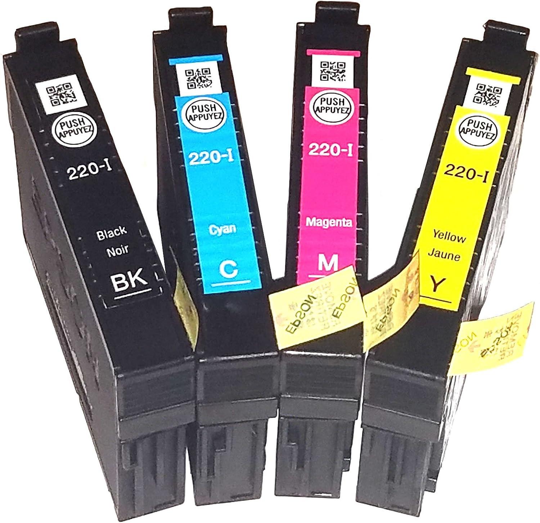 Original Epson 220-i Pack de 4 cartuchos de tinta para Epson ...
