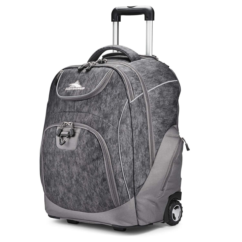 High Sierra Unisex Powerglide Wheeled Laptop Backpack, 17-inch Laptop Backpack by High Sierra