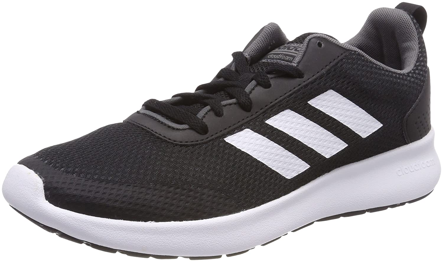 Adidas Argecy, Zapatillas de Running para Hombre 44 2/3 EU|Negro (Core Black / White / Grey Five 0)