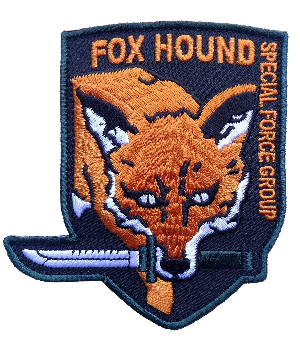 Titan One Europe Fox Hound Special Forces Iron On Aufnäher Aufbügler Patch